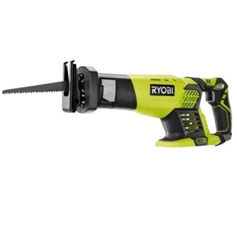 depot sawzall ryobi 18 volt one cordless reciprocating saw tool only Home