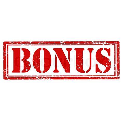 Grunge rubber stamp with word Bonus,vector illustration ...