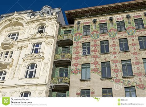 The Nouveau Of Otto Wagner Viennese Architecture Nouveau Otto Wagner Stock Image