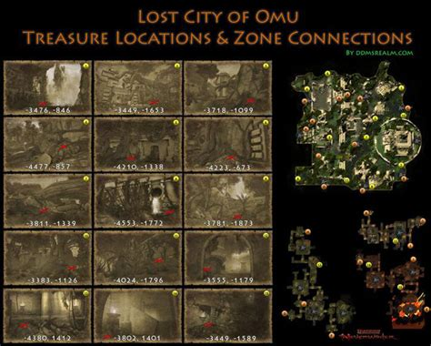 omu neverwinter treasure locations map maps lost treasures guide hunts location tomb annihilation connections ddmsrealm loot chest farming toa game
