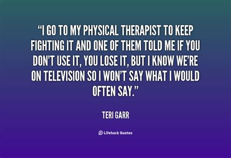 Famous Physical Therapy Quotes