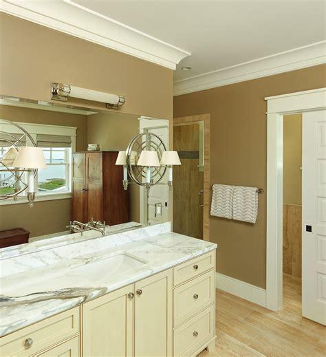 eggshell colored bathroom vanity design ideas