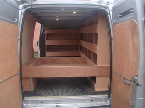 Cargo Van Storage Ideas Listitdallas