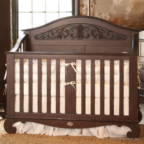 Bratt Decor Crib Satin White by Chelsea Lifetime Convertible Crib Espresso Bratt Decor