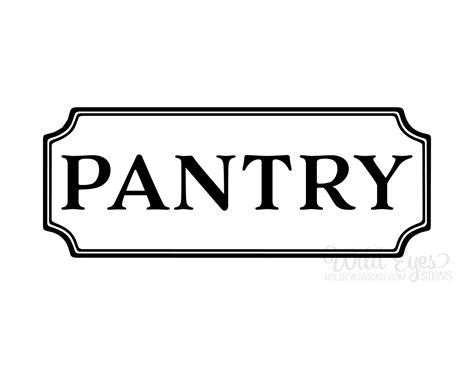 pantry door decals pantry vinyl decal kitchen vinyl decal glass door decal