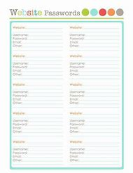 Best 25 ideas about username and password organizer template find printable password organizer template maxwellsz