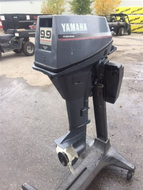 Used Yamaha Outboard Motors For Sale In Ontario by Yamaha 9 9 High Thrust 1988 Used Outboard For Sale In