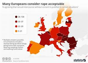 Chart: Many Europeans consider rape acceptable | Statista