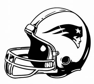 Geekcals - New England Patriots Helmet Vinyl Decal
