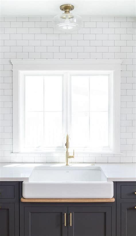 hot  kitchen trend dark cabinets subway tile shiplap home bunch interior design ideas