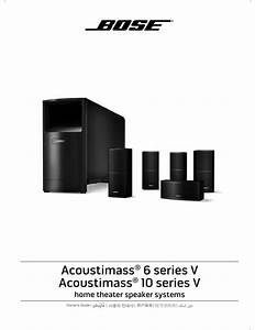 Bose Acoustimass 6 Series V Owner U0026 39 S Manual Pdf Download
