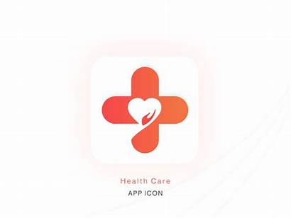 Health App Care Icon Dribbble Am Shot