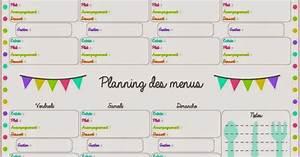 Trucs de Maëliane, le blog : [Outil pratique] Planifier ses repas en famille et sans débat