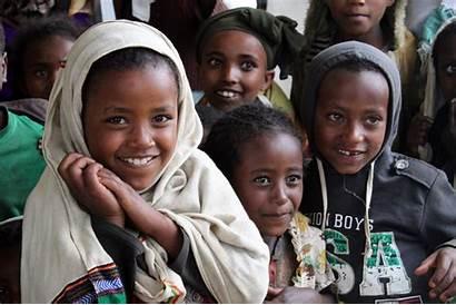Ethiopia Children Developing Ethiopian Flickr Vaccinations Clinic