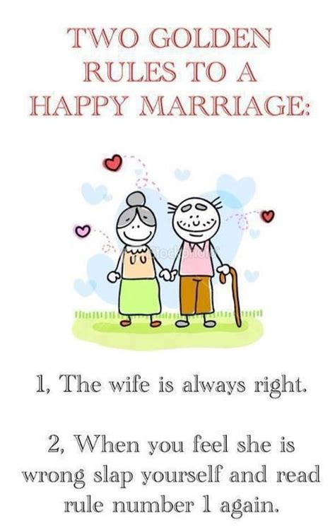 golden rules   happy marriage funny stuff