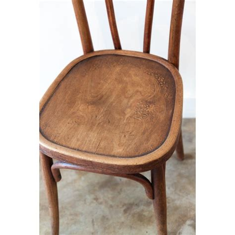 chaise bistrot thonet paire de chaises bistrot thonet