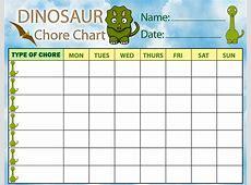 Chore Charts – Printable Cute Chore Charts for Kids