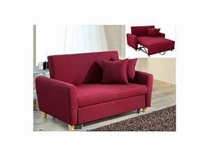 2 Sitzer Mit Bettfunktion : 2 sitzer sofa stoff mit bettfunktion xavier rot kaufen ~ Bigdaddyawards.com Haus und Dekorationen