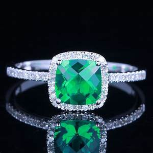 Antique emerald engagement rings unique engagement ring for Emerald and diamond wedding ring