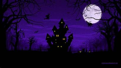 Halloween Scary Spooky Wallpapers Spider Happy Witches