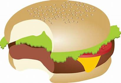 Clipart Burger Bite Sandwich Steak Transparent Hamburger