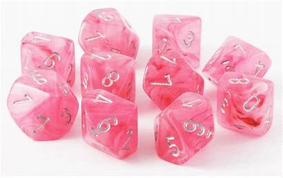 Dice Ghostly Glow D10 Sided Chessex