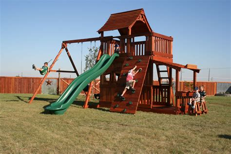 Wood Play Sets Improve Kids' Well Being