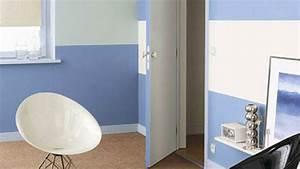 Comment Peindre Une Chambre En 2 Couleurs : 5 id es deco pour marier plusieurs couleurs de peinture ~ Melissatoandfro.com Idées de Décoration