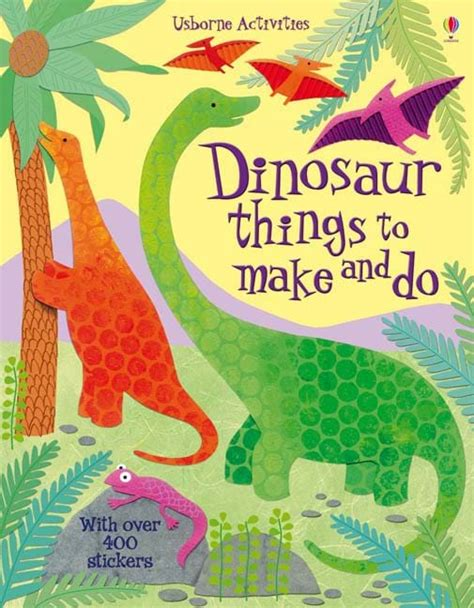 things to cook dinosaur things to make and do at usborne children s books