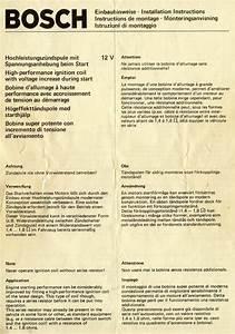 Bosch External Resistance Coil Install Instructions