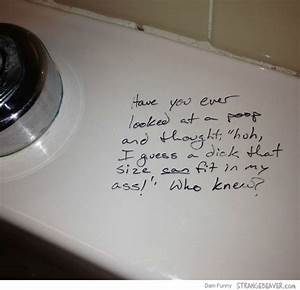 fun times with bathroom graffiti strange beaver With funny bathroom graffiti