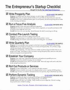Business Startup Checklist 12 Entrepreneurial Checklist For Success In Pdf Ms Word