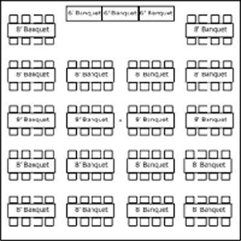 tent layouts seating capacity chart aa party and tent