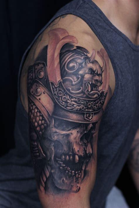 samurai  sleeve tattoos pinterest tattoo body