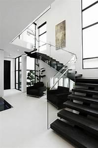 Rampe D Escalier Moderne : design maison de luxe rampe d 39 escalier en verre transparente escalier moderne maison ~ Melissatoandfro.com Idées de Décoration