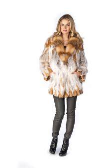 red fox fur jackets   sold  madisonavemall