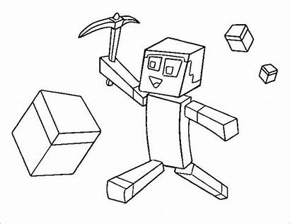 Minecraft Colouring Pages Template Templates Coloring Pdf