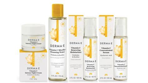 derma e rejuvenates skin care packaging design packaging digest