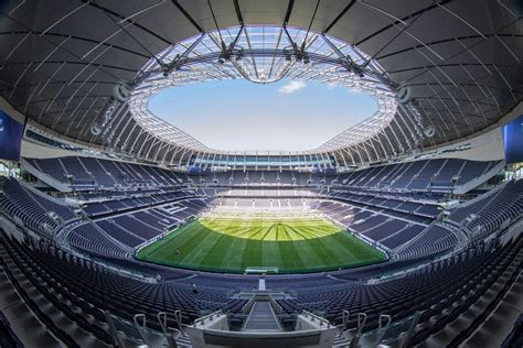 The facility has a capacity of 62,303,which makes it one of the largest stadiums in the premier league and the largest club stadium in london. Tottenham Hotspur Football Club - Buro Happold