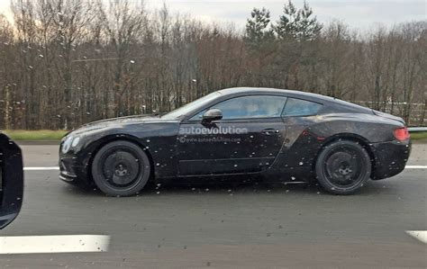 2018 Bentley Continental Gt Spied, Features Exp 10 Speed 6