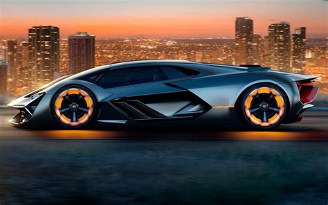 Lamborghini Dévoile Un Conceptcar Capable De S'autoréparer