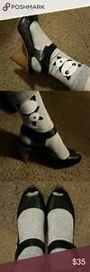 Black Peeptoe Aldo Heels Size 7 These Shoes Are Size 38