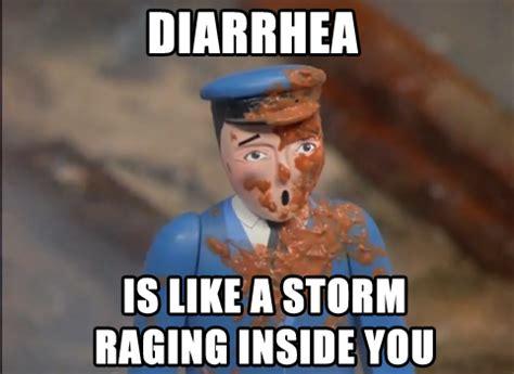 Diarrhea Memes - image 783027 where will you be when diarrhea strikes know your meme