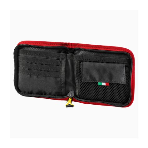 Securely store cash, various cards and licenses as well as other small personal belongings. PUMA Logo Ferrari red Wallet   Accesories \ Luggage \ Wallets Shop by Team \ Formula 1 Teams ...