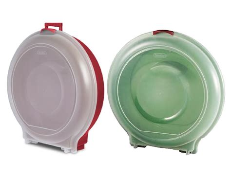 sterilite christmas holiday 24 quot wreath storage cases