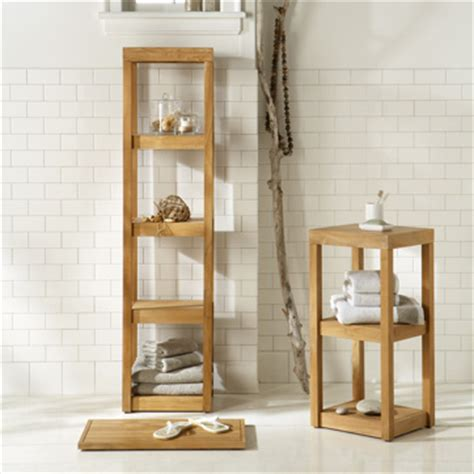 teak bath shelf west elm easy bathroom makeovers the wallflower