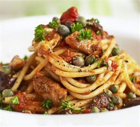 spaghetti  sardines recipe bbc good food