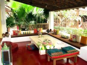 miscellaneous patio ideas budget with red ceramic floor