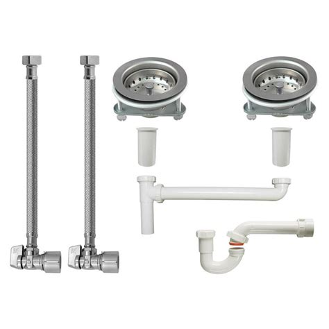 kitchen sink installation shop keeney kitchen sink installation kit for 1 1 2 in 5840