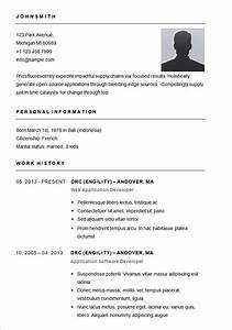 easy resume template free health symptoms and curecom With free easy resume